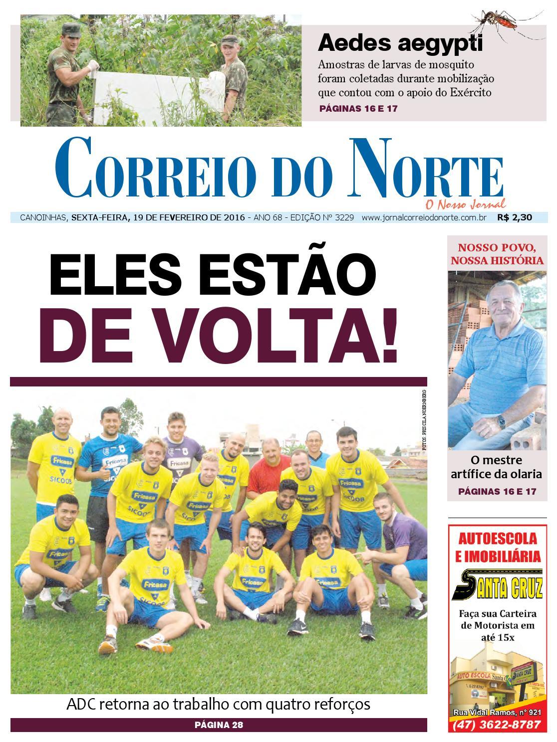 Edição 3229 by Jornal Correio do Norte - issuu 8e9f458bca5ee