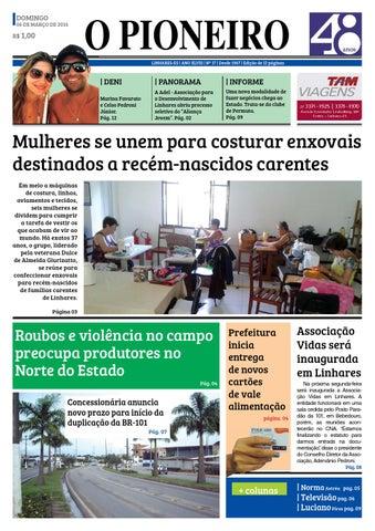 O PIONEIRO 06 DE MARÇO DE 2016 by Jornal O PIONEIRO - issuu 92d6b37e8e1dc