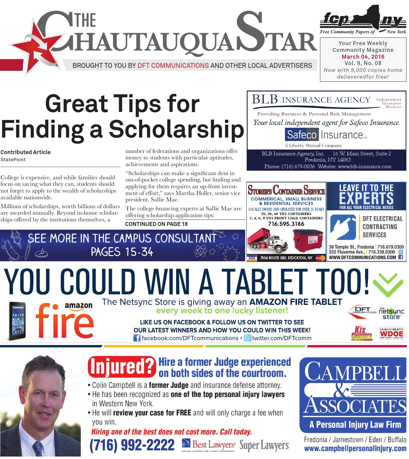Chautauqua star march 04 2016 by the chautauqua star issuu fandeluxe Image collections
