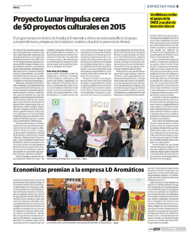 Dossier prensa discapacidad 5 7 marzo by Asociación Verdiblanca Centro  Especial de Empleo - issuu