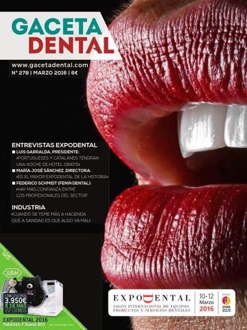 Dental Gaceta Peldaño issuu 278 by TclFK1J