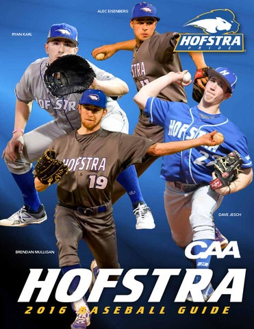 Exceptional 2016 Hofstra Baseball Guide By Hofstra University   Issuu