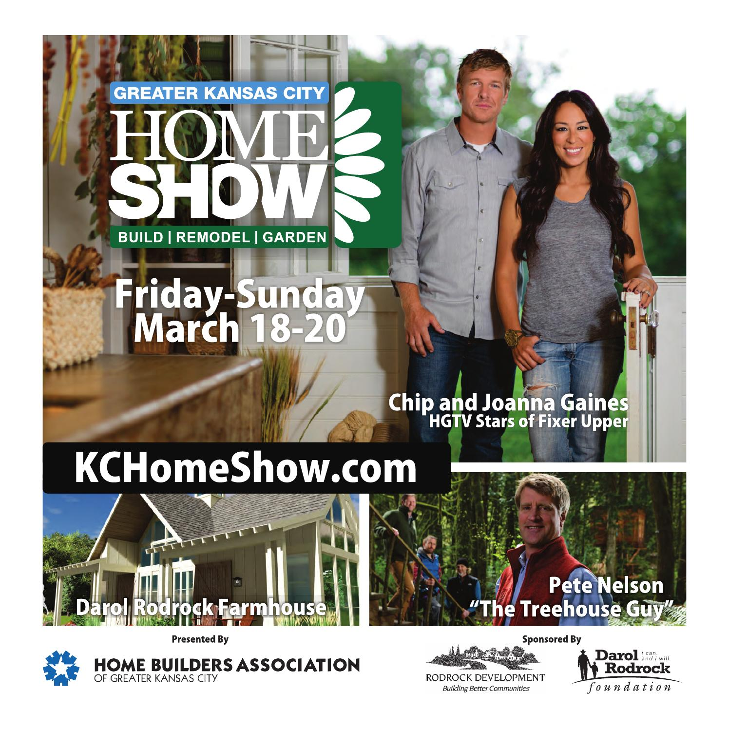 Greater KC Home Show Guide 2016 By Home Builders Association Of Greater Kansas  City   Issuu