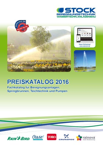 Stock Preiskatalog 2016 by STOCK Beregnungstechnik - issuu