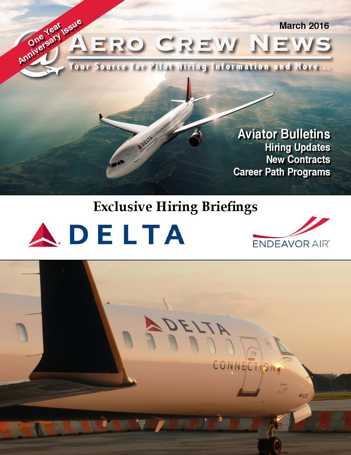 Aero Crew News, March 2016 by Aero Crew News - issuu