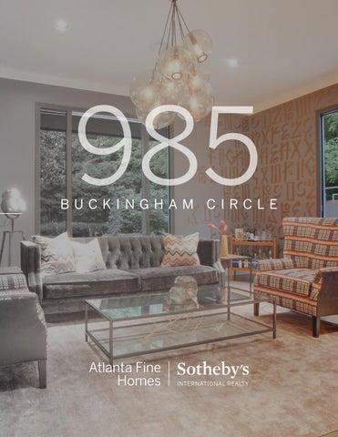 Atlanta Fine Homes Sothebyu0027s International Realty · Sold: 985 Buckingham  Circle
