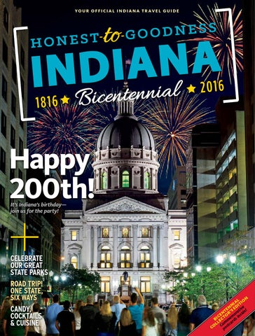 47e520ed1c299 Indiana Travel Guide - 2016 Bicentennial Edition by Propeller ...