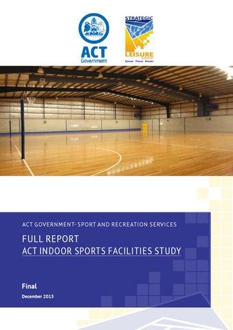 gungahlin indoor sports