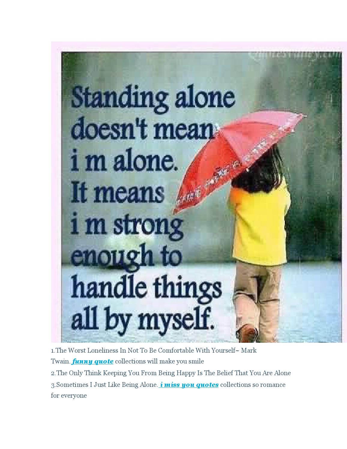 21 Loneliness Quotes So Sad For You By James Ng Issuu