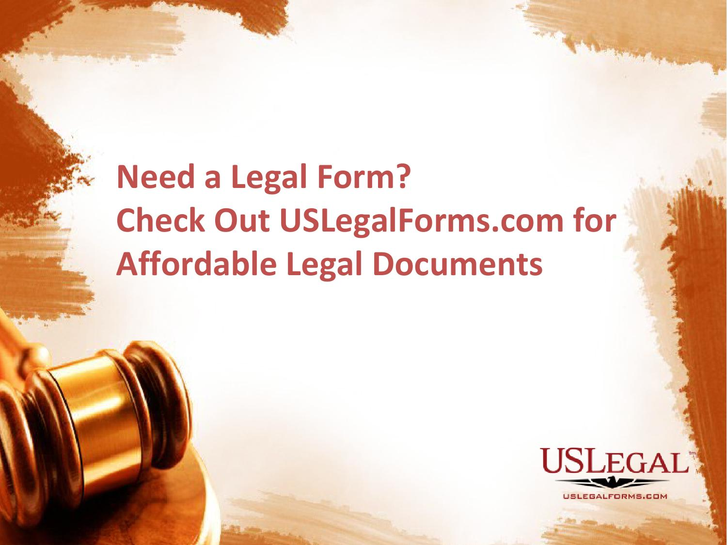 Need A Legal Form Check Out USLegalFormscom For Affordable Legal - Us legal forms