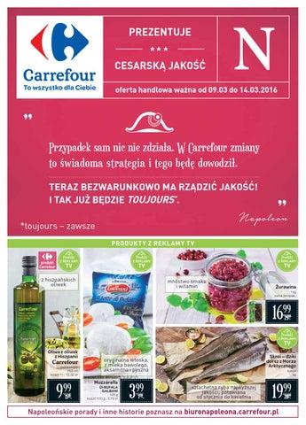 Carrefour Gazetka Od 0903 Do 14032016 By Iulotkapl Issuu