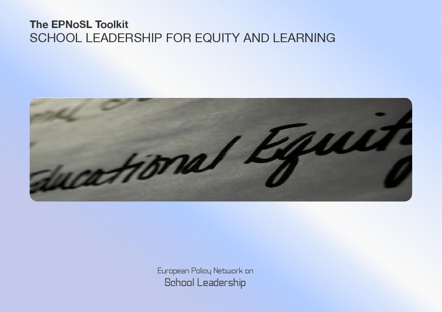 School leadership for equity and learning toolkit by epnosl issuu fandeluxe Gallery