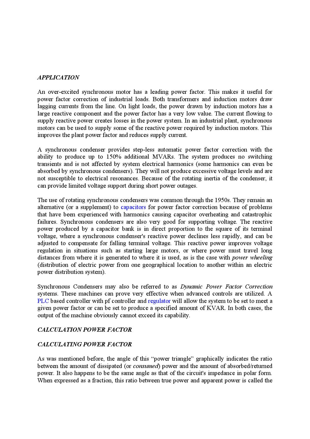 Analysis on power factor by Md Papon - issuu