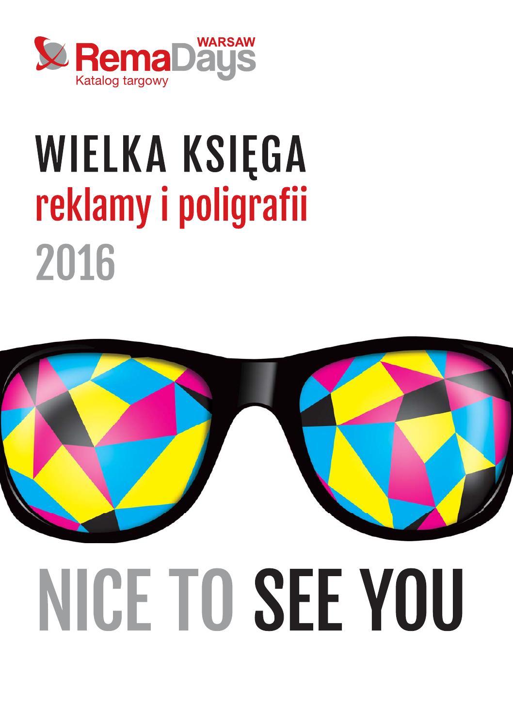 Wielka Księga Reklamy I Poligrafii 2016 By Gjc International