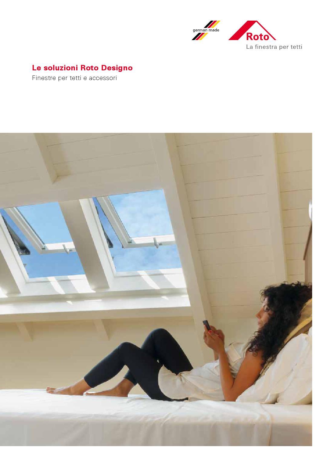 Catalogo roto finestre per tetti tipo velux by tecnicom for Tabella misure velux
