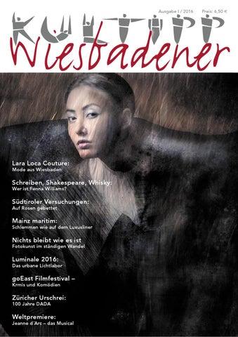 9bb6324d468cb9 WIESBADENER/KULTIPP, Ausgabe 01/2016 by Petra Esser - issuu