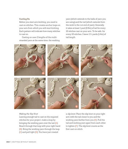 11bd22bc2 Anne Weil s Arm Knitting Tutorial for Sweet Paul by Sweet Paul ...