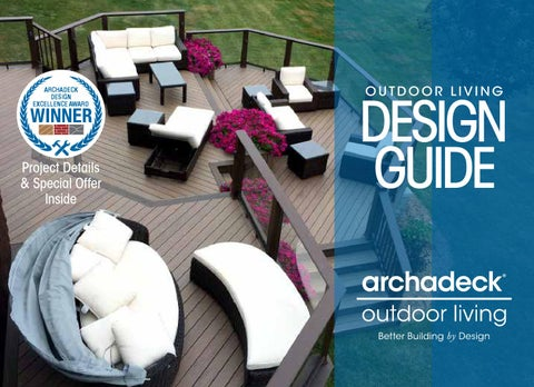 Archadeck Outdoor Living Design Guide By Outdoor Living Brands - Issuu