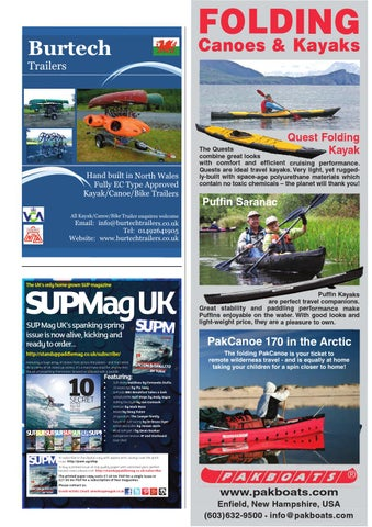 The Paddler issue 28 Early Spring 2016 Kayak cover by The