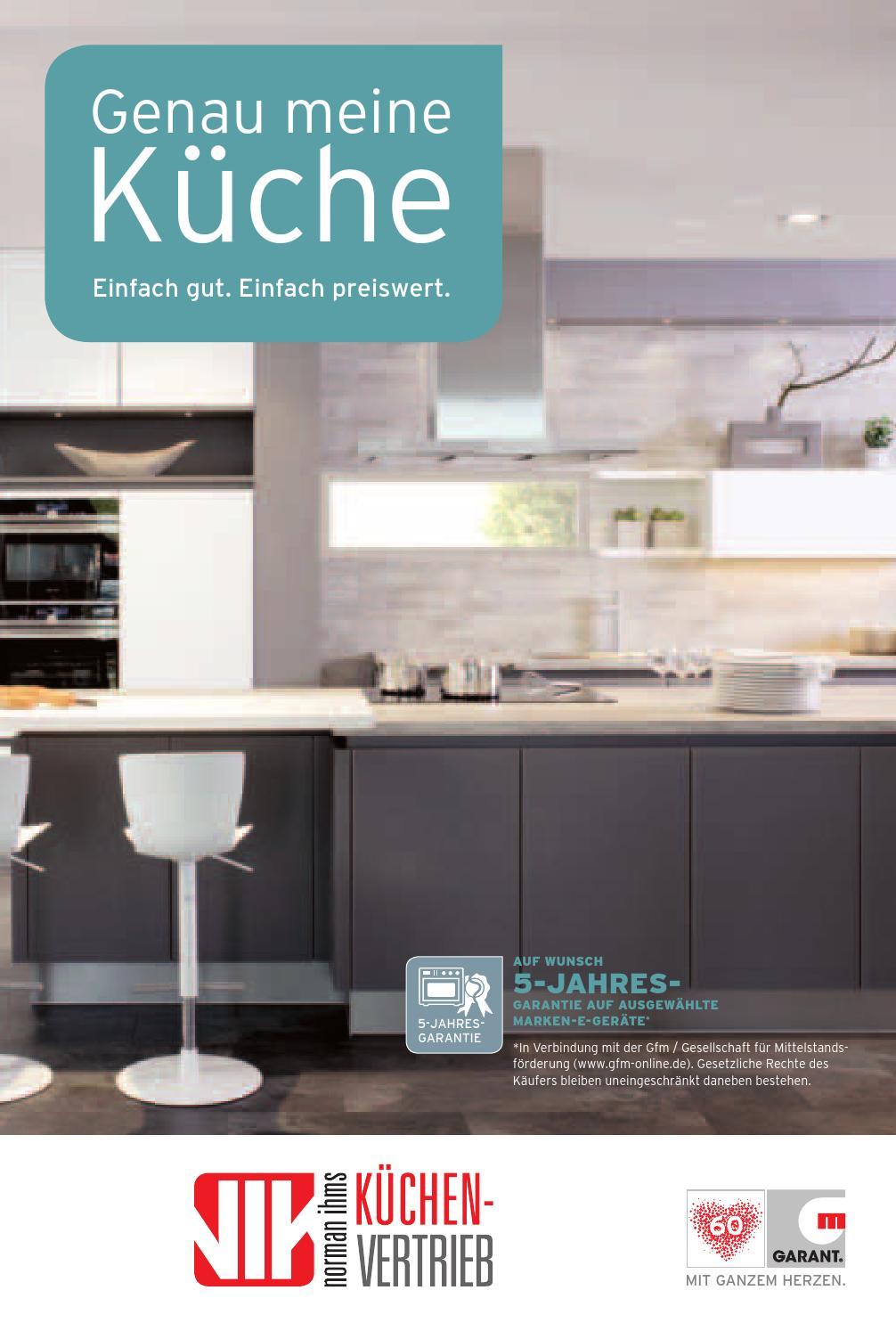 Genau meine Küche by NIK Küchenvertrieb - issuu