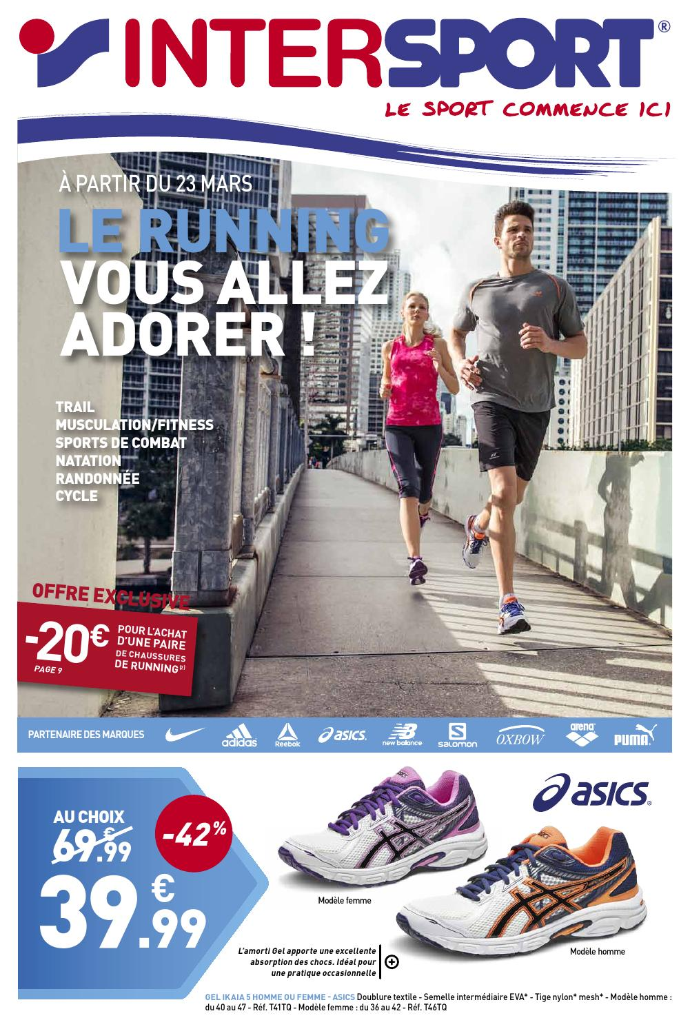 2018 sneakers outlet on sale elegant shoes INTERSPORT - Running (28 pages) by INTERSPORT France - issuu