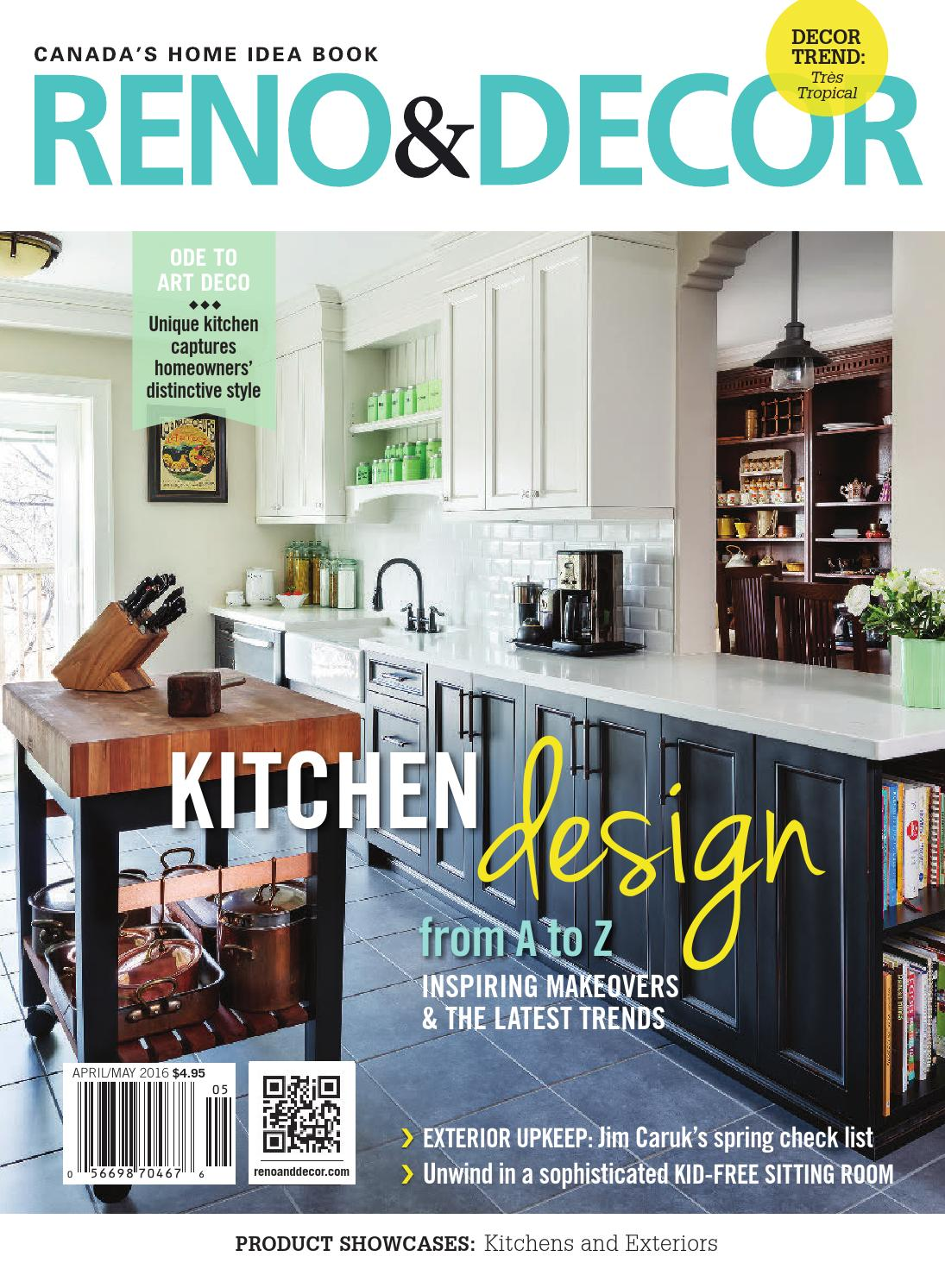 Reno Decor Magazine Apr May 2016 By Homes Publishing Group