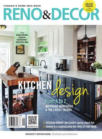 reno & decor magazine apr/may 2016homes publishing group - issuu