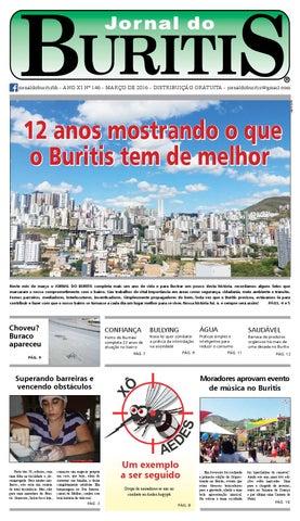 Jornal do Buritis março 2016. Edição especial 12 anos by Jornal do ... f92bb64df684d