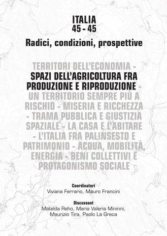 Atti Della Xviii Conferenza Nazionale Siu Italia 45 45 Planum