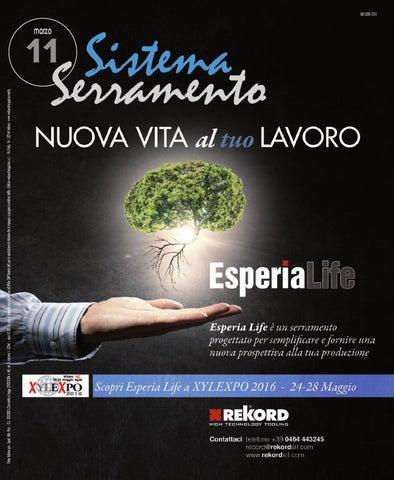 011sistemaserramento2016 By Web And Magazine Srl Issuu