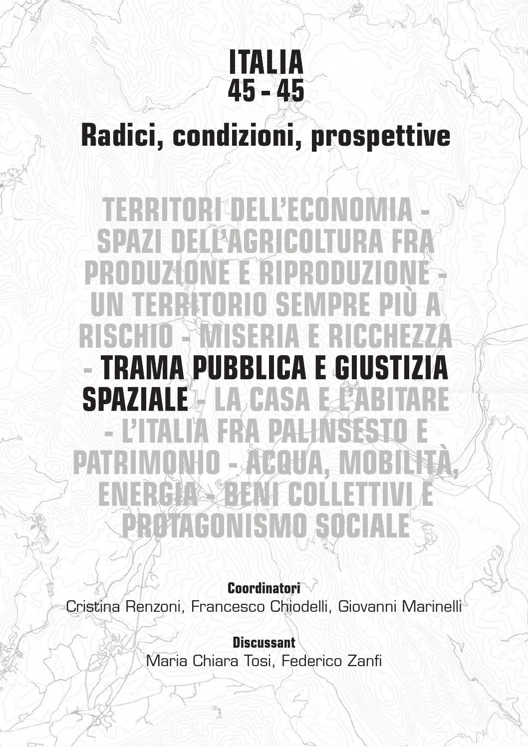 Atti Della XVIII Conferenza Nazionale SIU Italia 45 45