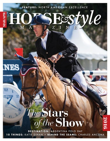 c169408935f8 Horse   Style Magazine March April 2016 by Horse   Style Magazine - issuu