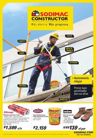 Catalogo sodimac constructor marzo 2016 uy by sodimac for Terrazas sodimac 2016