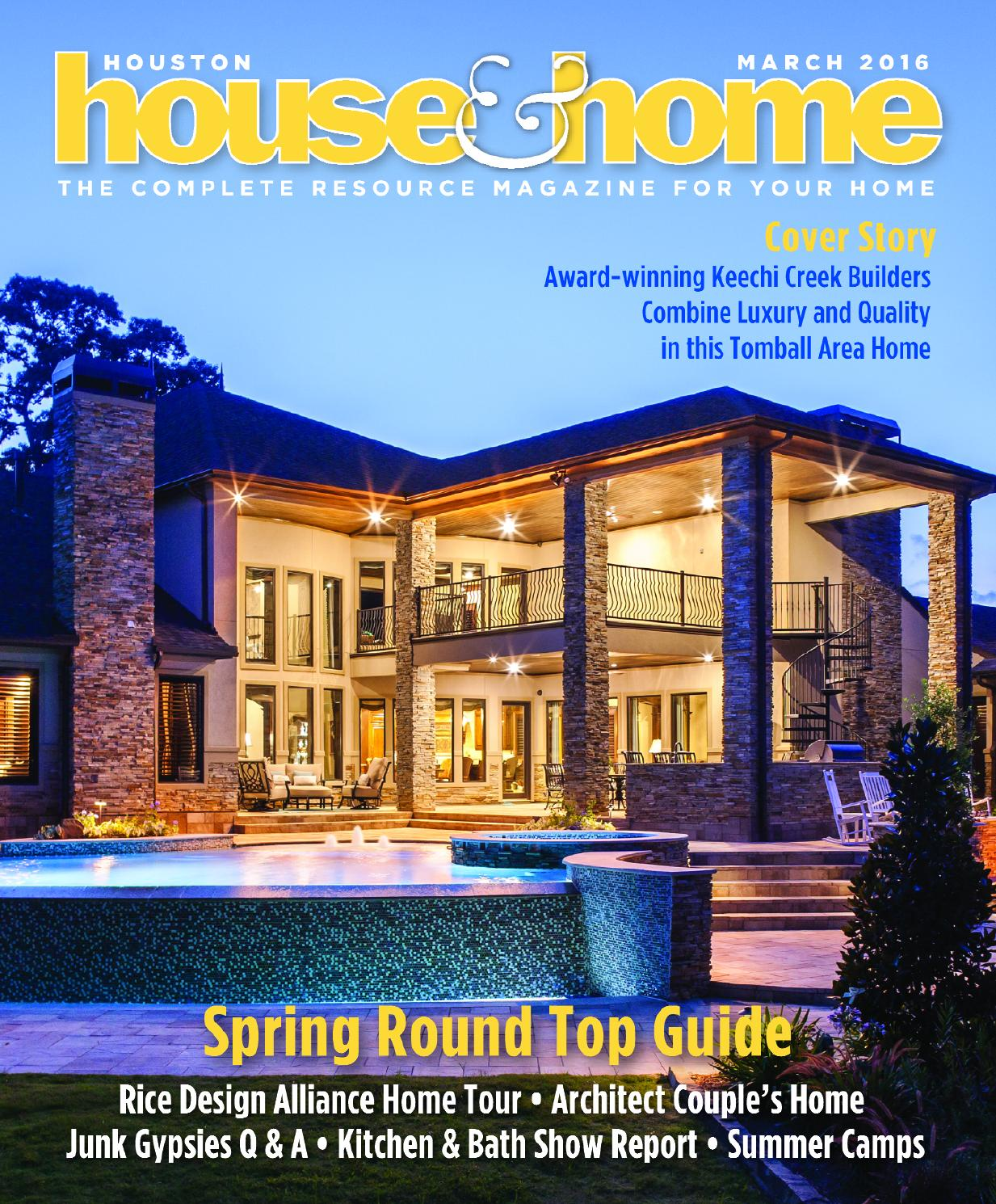 Award Winning Log Home Builders: 0316 Houhousehome Vir By Houston House & Home Magazine