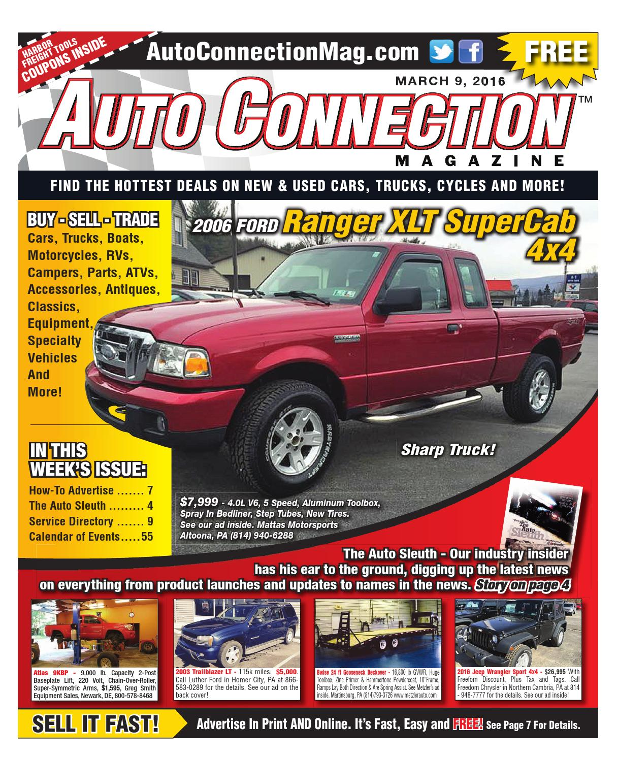 03 09 16 Auto Connection Magazine By Issuu 1988 Chevy Wire Diagramalternatorg20 3 4 Ton Full Size Van