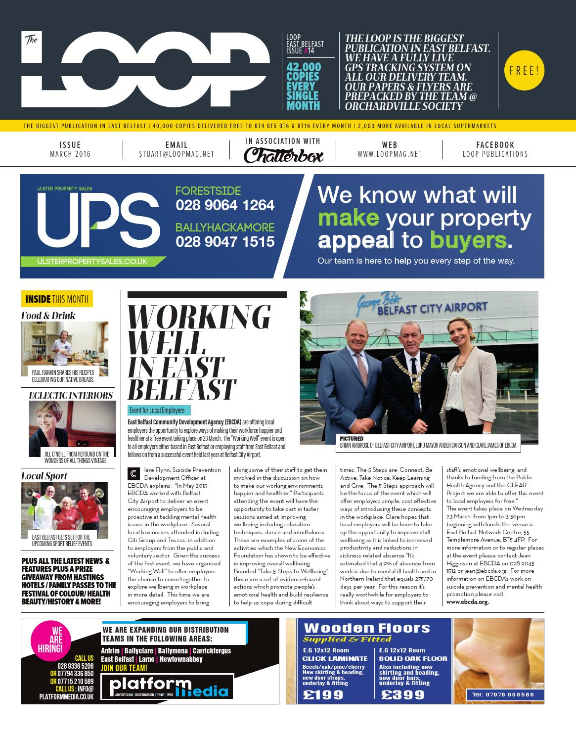 The Loop East Belfast March 2016 By Loop Publications Issuu