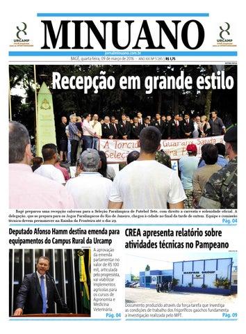 20160309 by Jornal Minuano - issuu de1627c811f9c