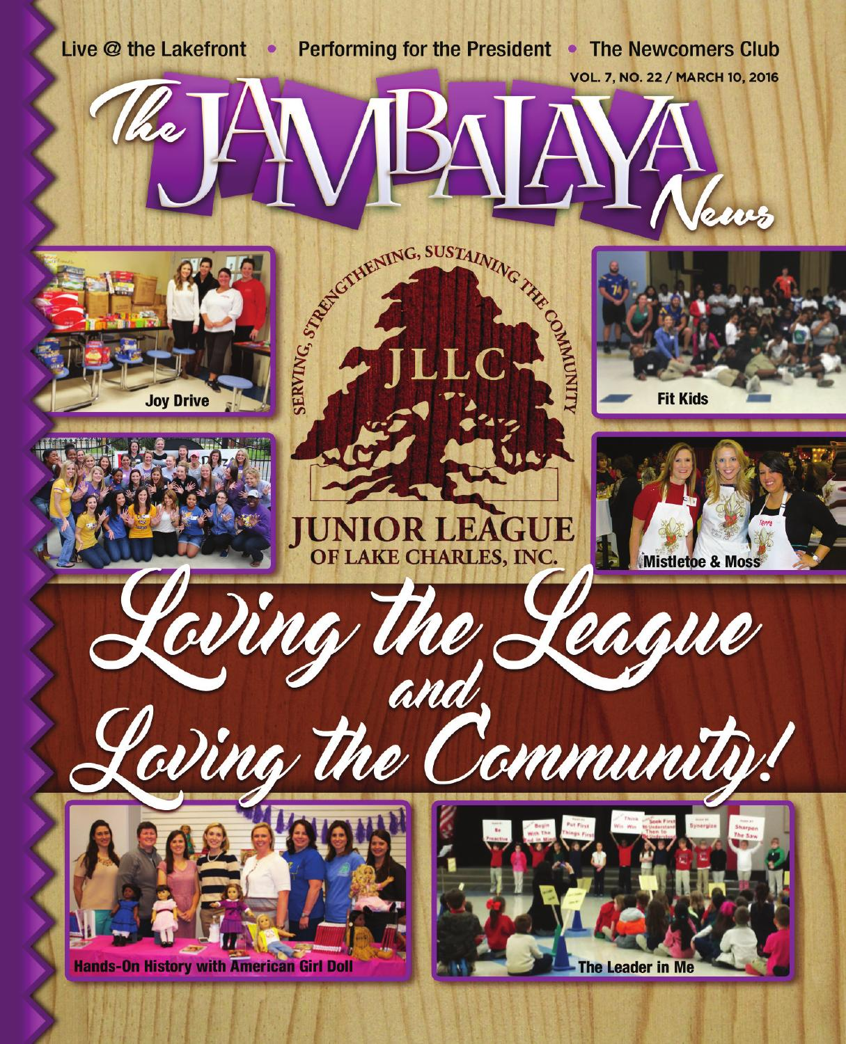 The Jambalaya News 031016 Vol 7 No 22 By The Jambalaya News