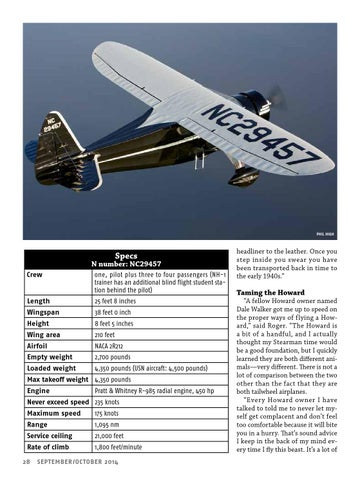 Va vol 42 no 5 sept oct2014 by EAA Vintage Aircraft Association - issuu