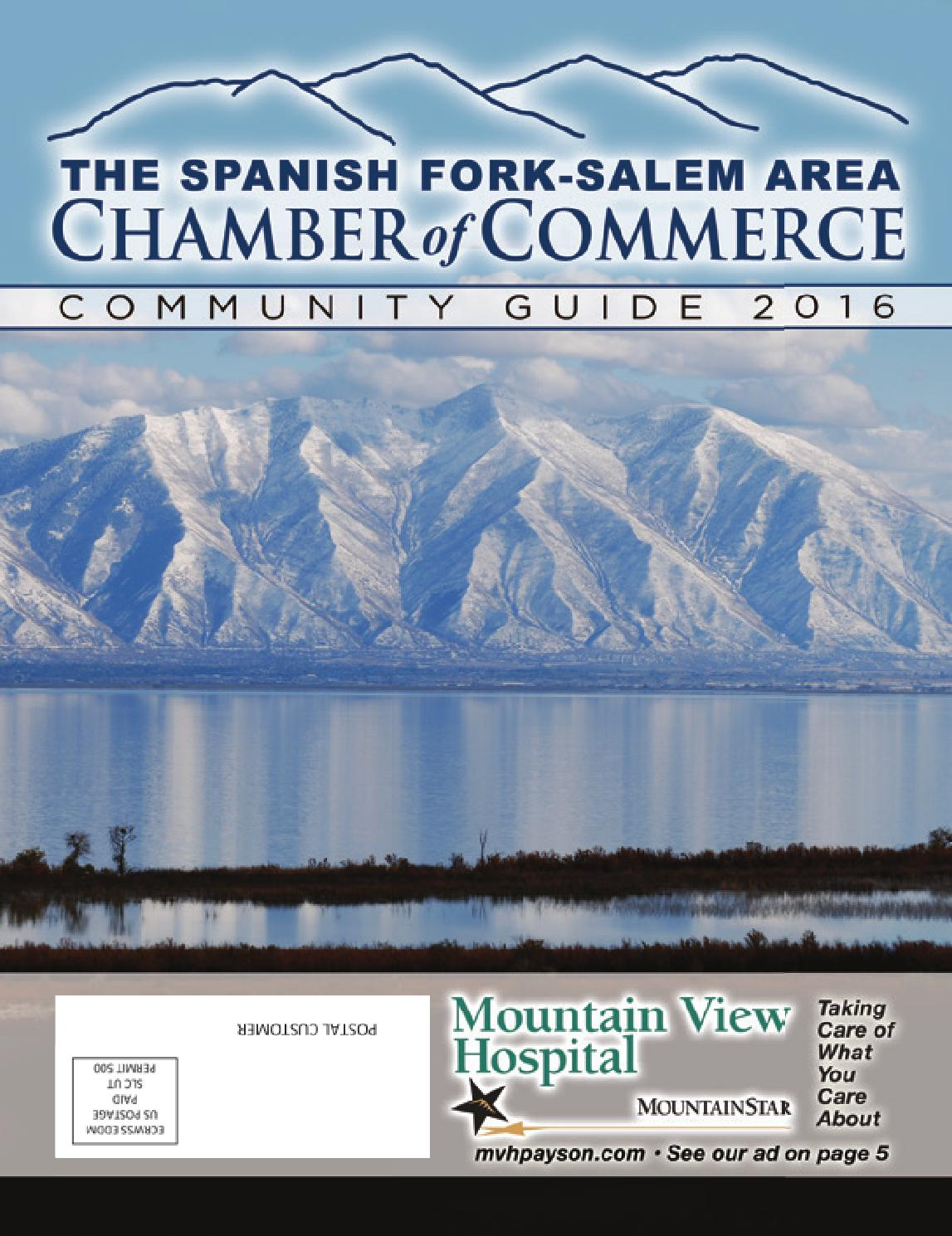 foto de Spanish Fork-Salem Area Chamber of Commerce- Community Guide 2016 ...