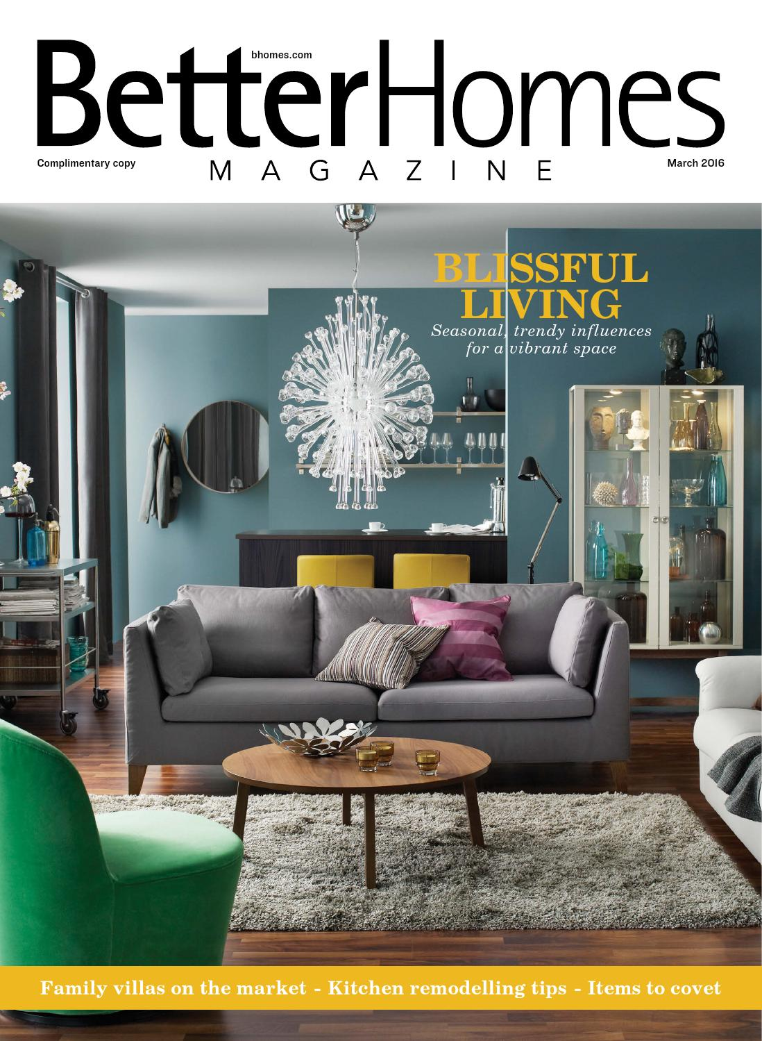 Better Homes Magazine Mar16 By Hot Media