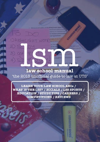 uts law assignment cover sheet