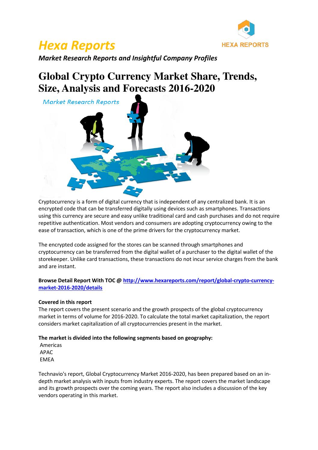 Cryptocurrency market trends 2020