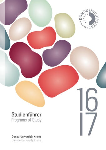 Studienführer 2016/17 by Donau-Universität Krems - issuu