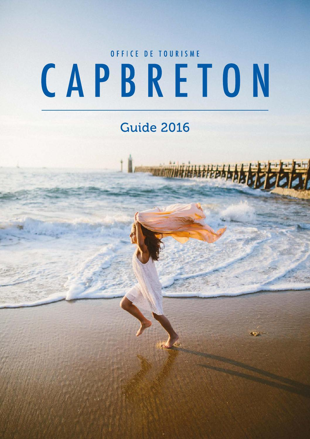 Guide pratique et hebergement 2016 by office de tourisme de capbreton issuu - Office de tourisme cap breton ...
