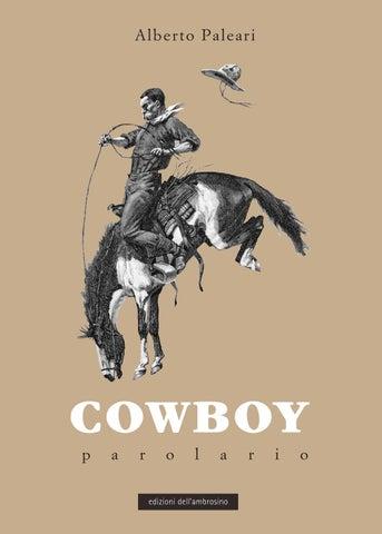 Cowboy Lingo parolario by italiastraordinaria issuu
