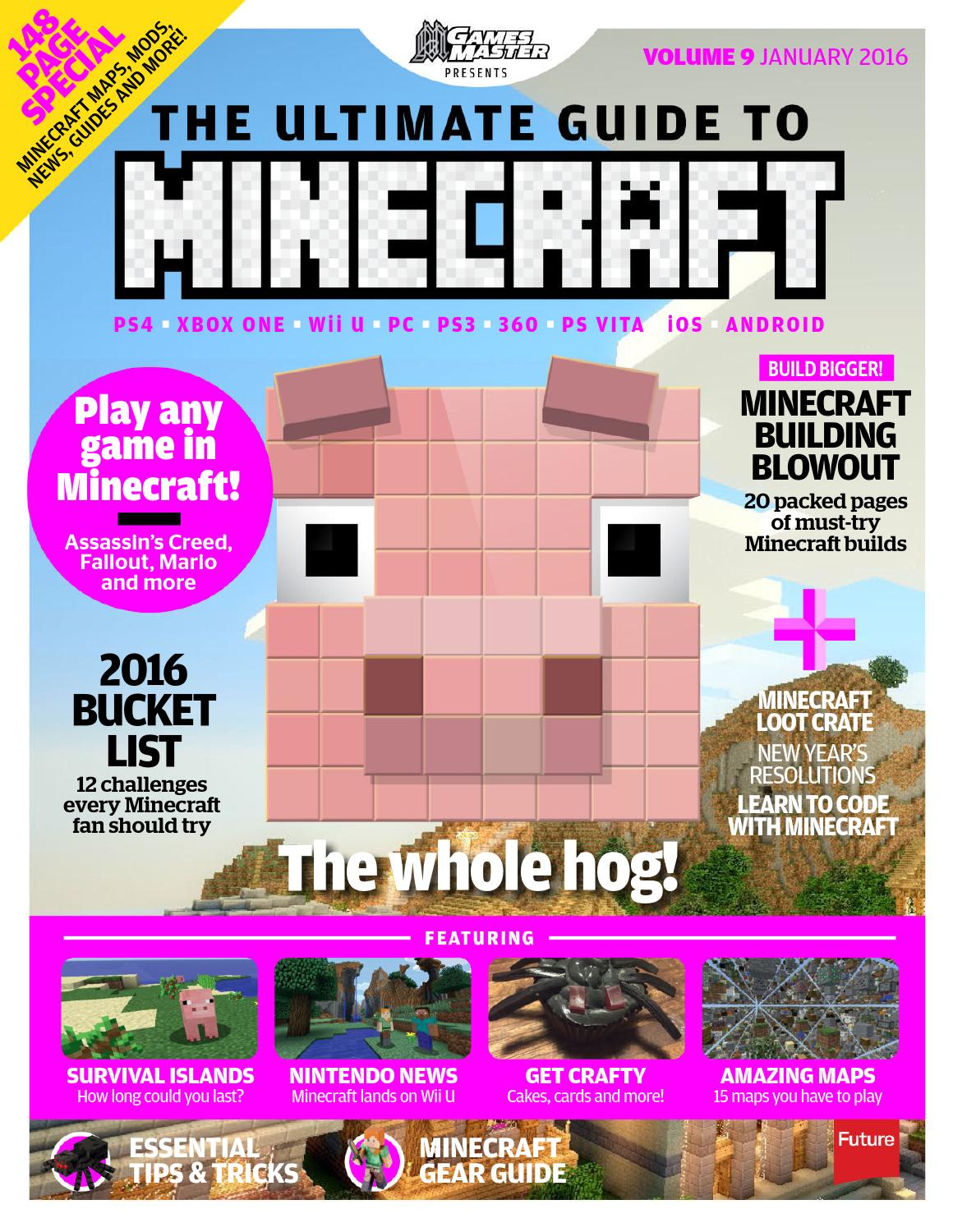 Ultimate Minecraft 2016 By Cleverkids Issuu Redstone Circuits