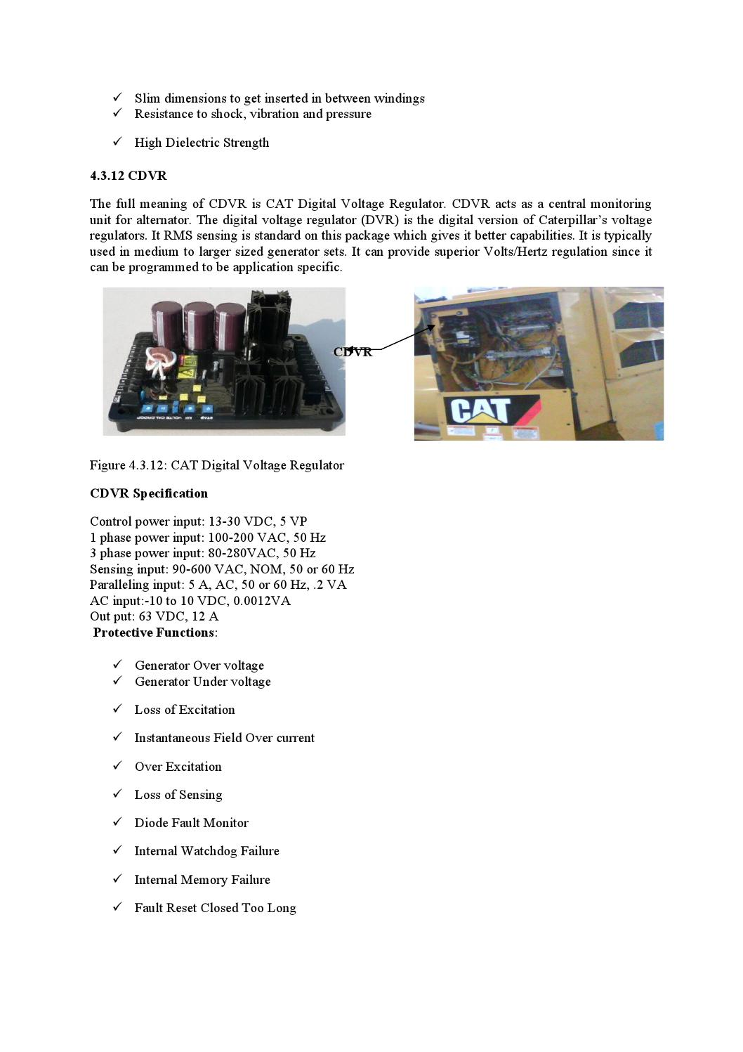 Power Generation System And Troubleshooting Of Caterpillar Generator Over Under Voltage Monitor By Md Papon Issuu