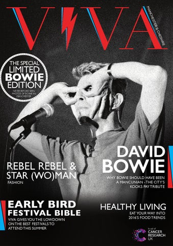 c172d05942b VIVA Spring 2016 The David Bowie Special Limited Edition (issue 24 ...