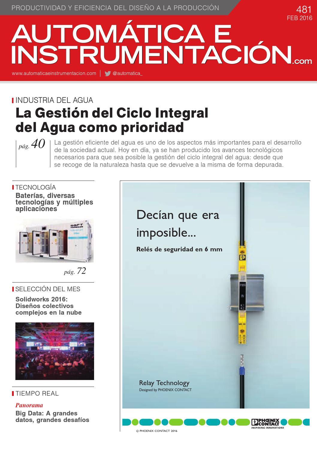 automtica e instrumentacin n 481 by digital newspapers sl issuu
